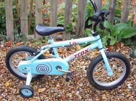 Trax T.14 Kids Bike with Stabiliser