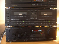 Old Skool Technics Separates For Sale - Amp - CD - Tapedeck - Tuner