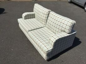 Sofa 3-person £30 dimensions 184cm long x 96cm deep x 82cm high buyer collects