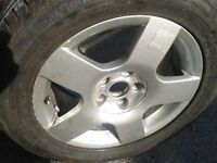 16 in. alloy wheel Audi wheel,