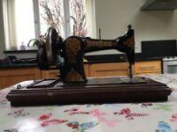 Vintage Jones sewing machine