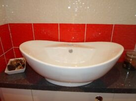 Brand new countertop sink