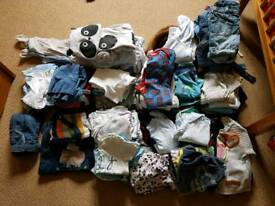 Very large boys clothes bundle 3-6 months