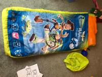 Toy story infant blow up air bed