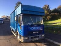 Ford cargo horsebox 1998