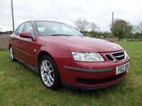 2005 SAAB 93 1.8 TURBO..MOTED TO APRIL 2018..CREDIT CARD ACCEPTED..POSSIBLE PART EXCHANGE