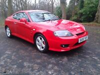 2005/55 HYUNDAI COUPE 1.6 S 83000 MLS LEATHER FULL SERVICE HISTORY