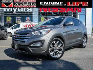 2013 Hyundai Santa Fe NAVIGATION! LEATHER! Backup Camera, active