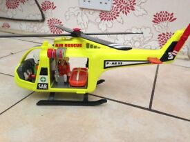 Playmobil rescue helicopters