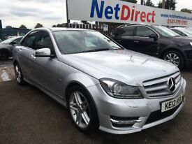 Mercedes-Benz C Class 2.1 C220 CDI BlueEFFICIENCY Sport 7G-Tronic 4dr LOW MILEAGE. 1 OWNER.