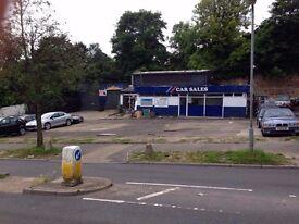 Car servicing work shop, Tyre work Shop/ bodywork and Car sales To Rent £800/ £1500 PCM