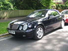 MERCEDES CLK 320 ELEGANCE 3.2 V6 Convertible Automatic in great condition