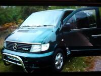 Mercedes 108 Diesel Camper Van