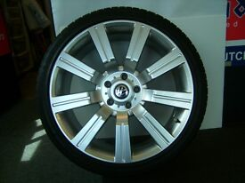 vw transporter or range rover alloys