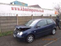 Volkswagen Polo Twist SDI 1.9 2004 breaking for spares Wheel Nut.