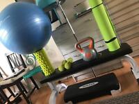 Gym equipment Kayla Itsines guide