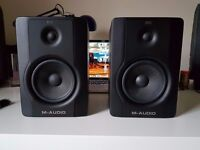 """M-Audio BX5 D2 5"""" Studio Monitor Speakers"""