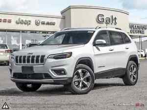 2019 Jeep New Cherokee LIMITED 4X4 | LEATHER NAV SUNROOF UCONNEC