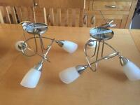 Pair of identical Ceiling lights