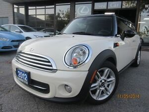 2012 MINI Cooper Clubman LEATHER-PANORAMIC-SUNROOF