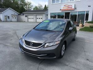 2013 Honda Civic FINANCE LESS THEN $200 A MONTH. BRAND NEW TIRES
