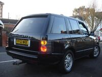 /// LAND ROVER RANGE ROVER 2.9 TD6 HSE /// AUTOMATIC DIESEL /// 2003 PLATE NEWER SHAPE 4X4 JEEP/