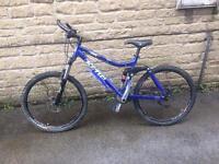 Kona Dawgma full suspension mountain bike
