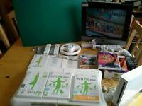 Wii Bundle+Board+Games