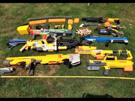 Nerf guns large collection large and small sizes great for cosplay