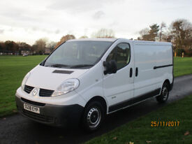 RENAULT TRAFFIC SUPERB L MILES LWB NO VAT