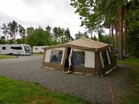 Pennine Sterling 6 berth folding camper 2007 with awning & accessories
