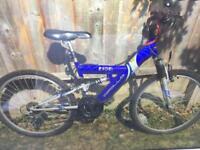 """Mountain Bike Apollo Kids Full Suspension 20"""" wheels"""