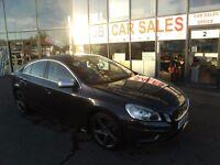 DIESEL !!! 2011 61 VOLVO S60 1.6 DRIVE R-DESIGN S/S 4D 113 BHP **** GUARANTEED FINANCE ****