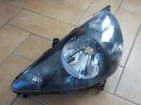 New Honda Jazz headlamp / headlight - Fits 2001-2005 passenger n/s