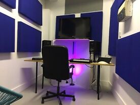 Music Recording Studio Space / Production Suite, in Manor House, London Zone 2 tube