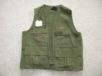 Barbour Green Fishing Gilet suitable for Fly Fishing