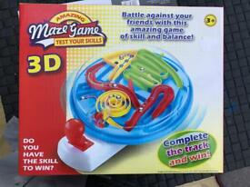 Brand name 3D maze game
