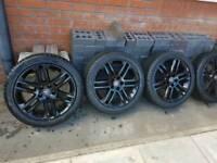 Vauxhall vectra sri sport alloys black 17s 120ono