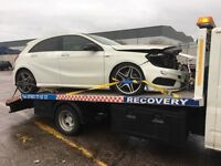 CHEAP RECOVERY SERVICE & TRANSPORTATION AND BREAKDOWN SERVICE WEST MIDLANDS ACCIDENT SCRAP
