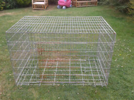 LARGE DOG CAGE - 50 x 31 x 30 inches