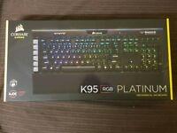 Corsair k95 rgb platinum brand new boxed sealed