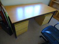 IKEA beech colour desk 160cm x 80cm