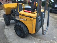 High lift tonne dumper