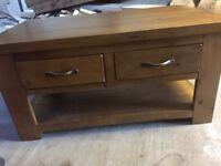 Arizona solid wood dresser & matching coffee table