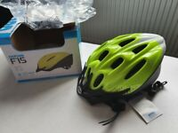 brand new oxford cycling helmet and led lights