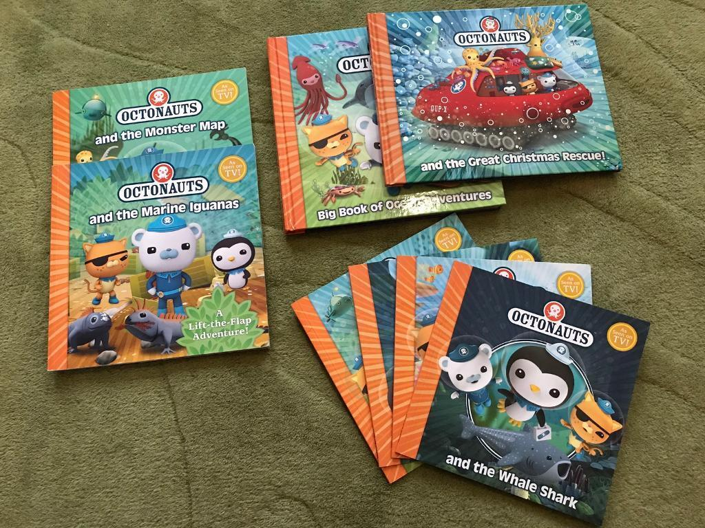 Octonaut book bundle | in Ipswich, Suffolk | Gumtree