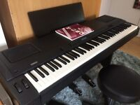 Complete Portable Stage Piano package: Yamaha P200, case and accessories