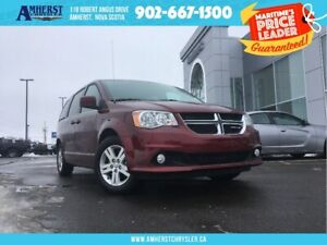 2018 Dodge Grand Caravan CREW - HEATED STEERING/SEATS, LEATHER,