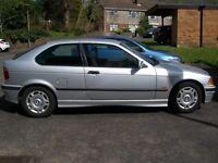 Silver BMW Compact - petrol