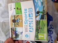 Wii games and console